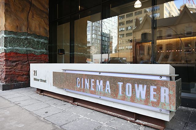 01 cinema tower sign