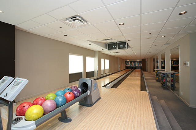 20 bowling alley